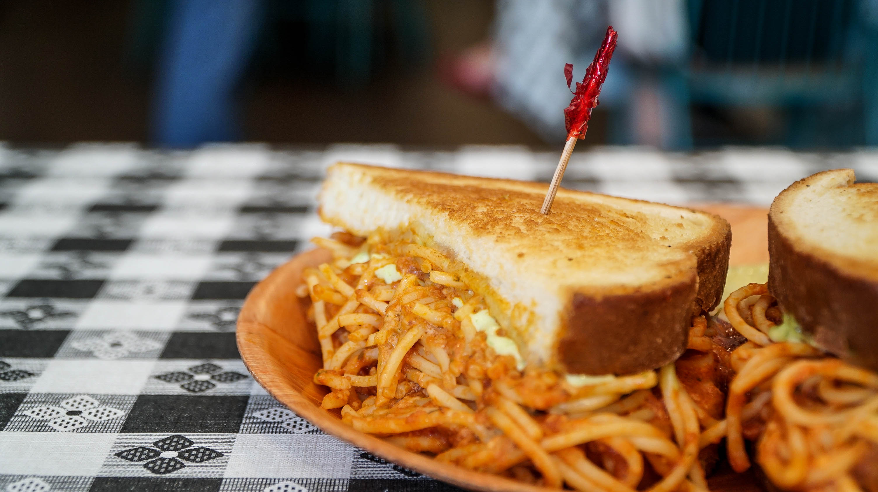 Spaghetti Sandwich - Not Your Typical Deli